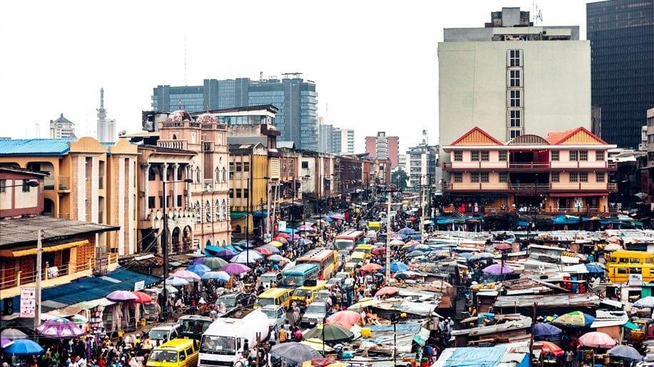 Lagos Nijerya Nüfus