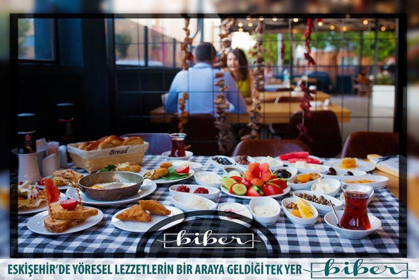 biber cafe&kitchen eskişehir kahvaltı